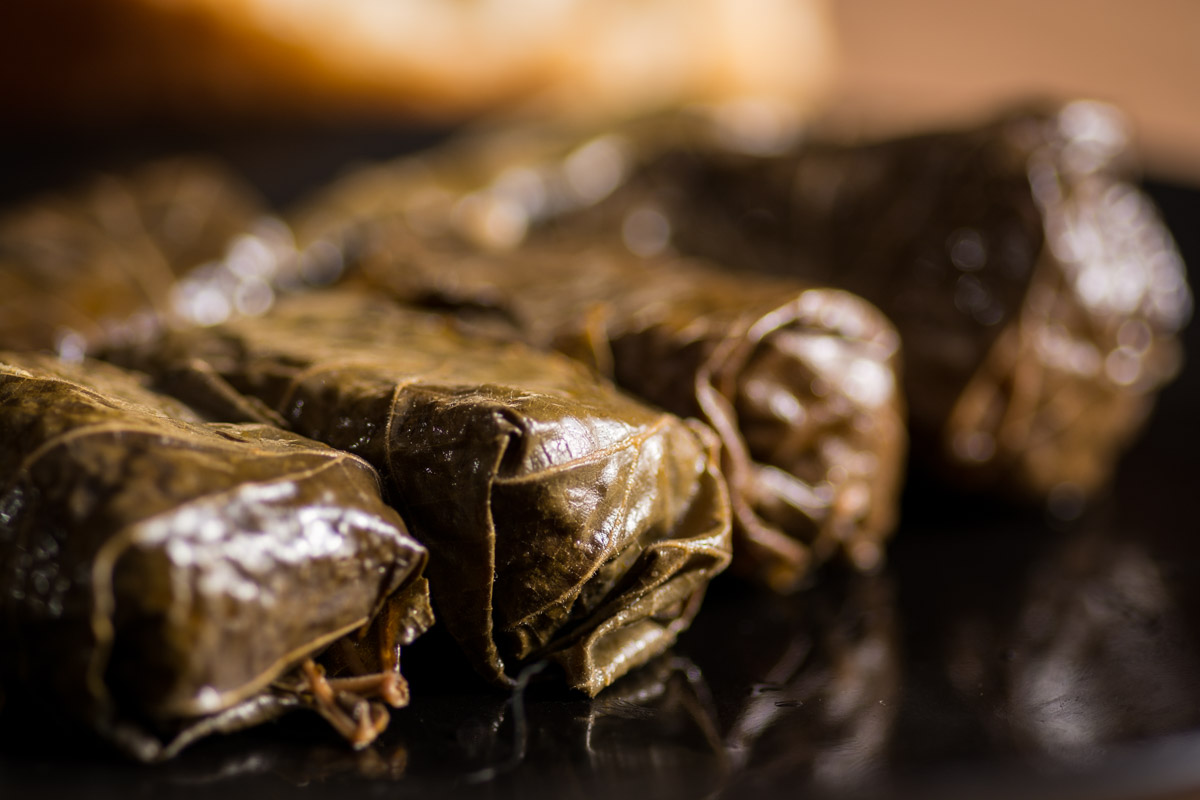 Lozovi Sarmi (Stuffed Grape Leaves)