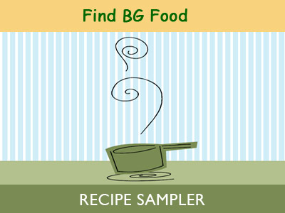 Find BG Food Recipe Sampler